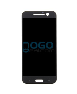 LCD & Digitizer Touch Screen Assembly Replacement for HTC 10 - Black