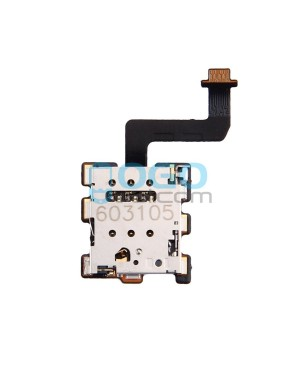 SIM SD Card Reader Connector Flex Cable Replacement for HTC 10