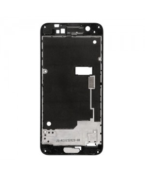 Front Housing Bezel Replacement for HTC One A9 - Black