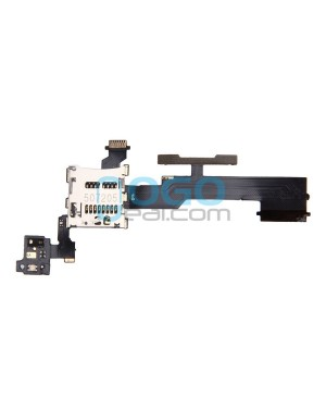 Volume Button Flex Cable with SIM Card Reader Replacement for HTC One M8s