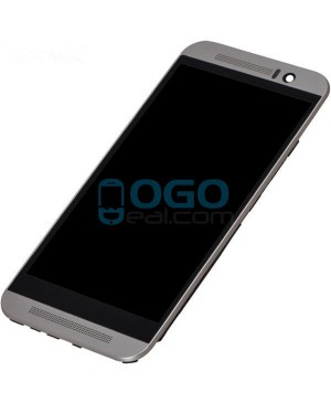 LCD & Digitizer Touch Screen Assembly With Frame replacement for HTC One M9 - Silver