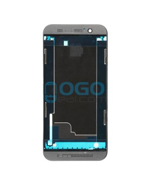 Front Housing Bezel Replacement for HTC One M9 - Gray