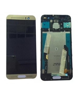 LCD & Digitizer Touch Screen Assembly With Frame replacement for HTC One M9+ - Gold