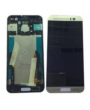 LCD & Digitizer Touch Screen Assembly With Frame replacement for HTC One M9+ - Silver