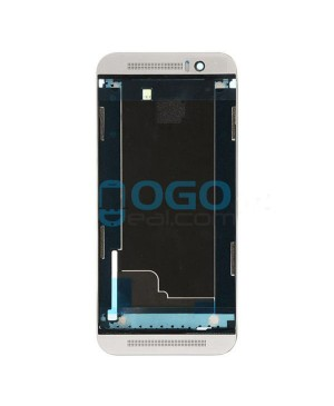Front Housing Bezel Replacement for HTC One M9+ - Gray