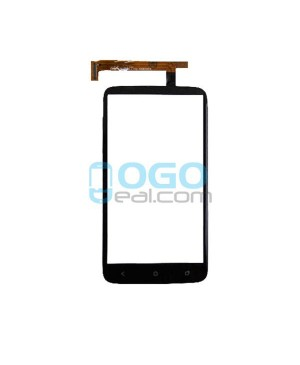 Digitizer Touch Glass Panel Replacement for HTC One X Black