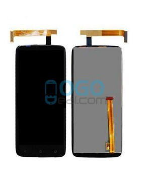 LCD & Digitizer Touch Screen Assembly Replacement for HTC One X Plus - Black