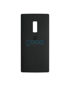 Battery Door/Back Cover Replacement for OnePlus Two - Black