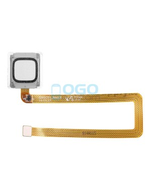 Fingerprint Sensor Flex Cable Replacement for Huawei Ascend Mate 7 Silver