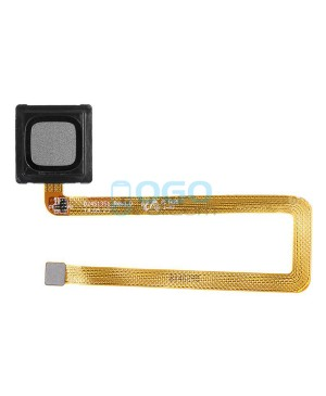 Fingerprint Sensor Flex Cable Replacement for Huawei Ascend Mate 7 Black