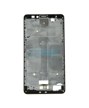 Front Housing Bezel Replacement for Huawei Ascend Mate 7 - Black