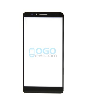 Front Outer Screen Glass Lens Replacement for Huawei Ascend Mate 7 Black