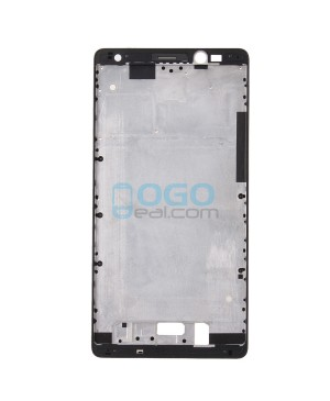 Front Housing Bezel Replacement for Huawei Ascend Mate 8 - Black