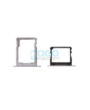 Micro SIM SD Card Tray Replacement - Silver for Huawei Ascend P8