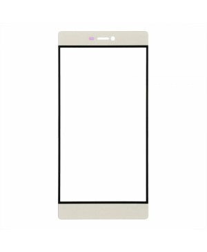 Front Outer Screen Glass Lens Replacement - for Huawei Ascend P8 - Gold