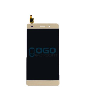 For Huawei Ascend P8 Lite LCD & Touch Screen Assembly Replacement - Gold