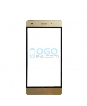 Front Outer Screen Glass Lens Replacement - Gold for Huawei Ascend P8 Lite - Gold