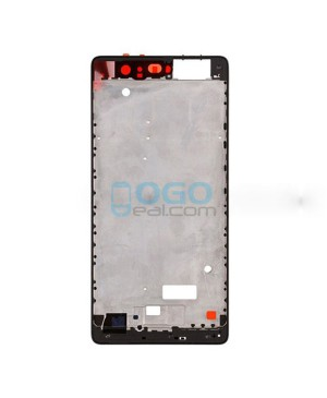 OEM Front Housing Bezel Replacement for Huawei Ascend P9 - Black