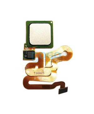 Fingerprint Sensor Flex Cable Replacement for Huawei Ascend P9 - Gold