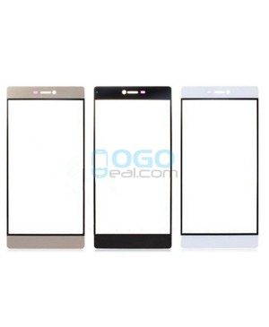 Front Outer Screen Glass Lens Replacement - for Huawei Ascend P9 - White