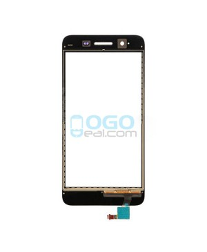 Front Outer Screen Glass Lens Replacement for Huawei Enjoy 5S - Black