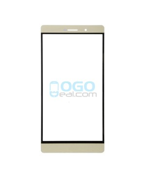 Front Outer Screen Glass Lens Replacement for Huawei Ascend P8 Max - Gold