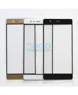 Front Outer Screen Glass Lens Replacement for Huawei Ascend P9 Plus - Black
