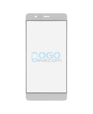 Front Outer Screen Glass Lens Replacement for Huawei Honor V8 - White