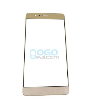 Front Outer Screen Glass Lens Replacement for Huawei Honor V8 - Gold
