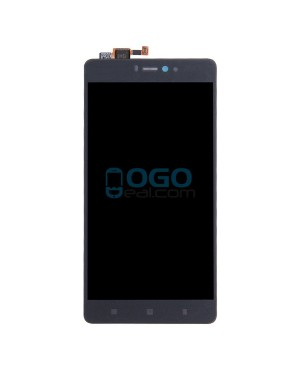 LCD & Digitizer Touch Screen Assembly Replacement for Xiaomi Mi 4i - Black