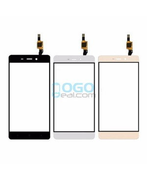 Digitizer Touch Glass Panel Replacement for Xiaomi Redmi 4 Black