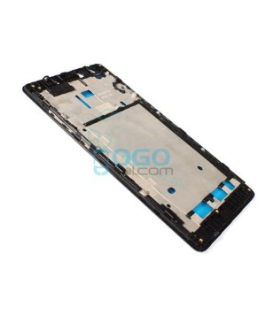 Front Housing Bezel Replacement for Xiaomi Redmi Note 4G - Black
