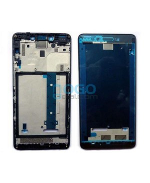Front Housing Bezel Replacement for Xiaomi Redmi Note 2 - Black