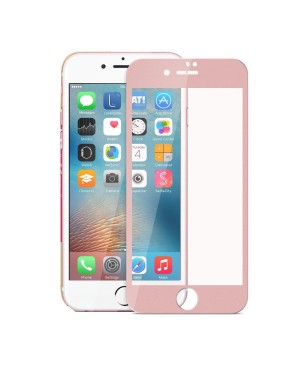 Full Cover Curved Edge Tempered glass Screen Protector For iPhone 7 Plus - Rose Gold
