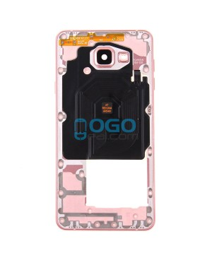 Middle Frame Bezel Assembly Replacement for Samsung Galaxy A7 (2016) A7100 - Pink