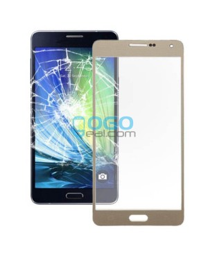 Front Glass Lens Replacement for Samsung Galaxy A7 (2016) A7100 Gold