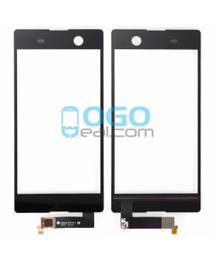 Digitizer Touch Glass Panel Replacement for Sony Xperia M5 E5603 Black