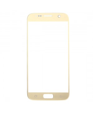 Front Glass Lens Replacement for Samsung Galaxy S7 Gold