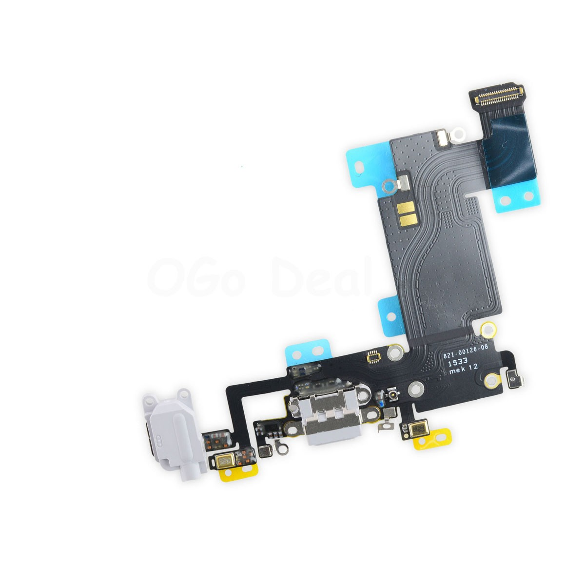 hot sale online 450d3 9ccd4 For Apple iPhone 6S Plus Charging Dock Connector and Headphone Jack Flex  Cable Replacement, High Quality - Light Gray
