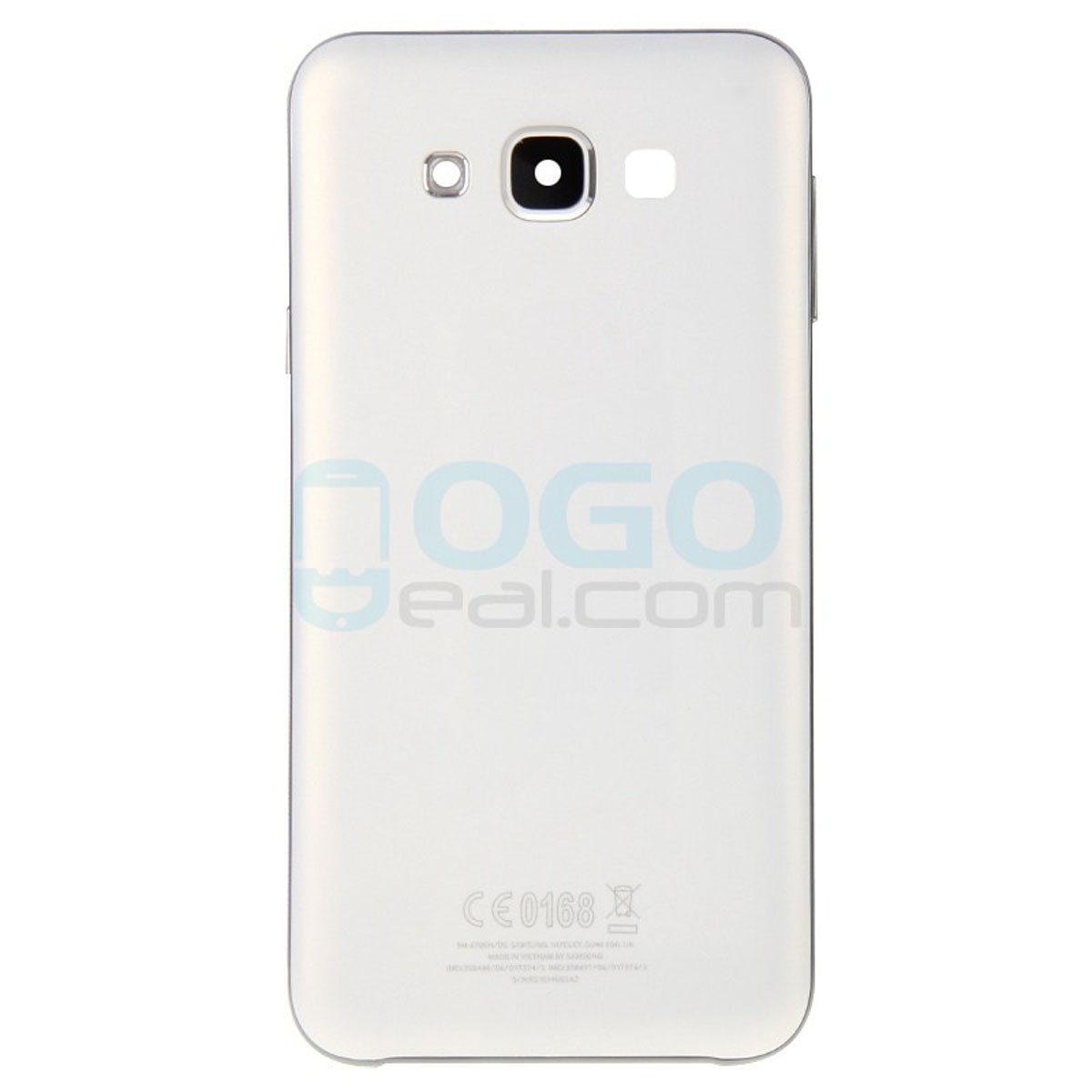 Factory Wholesale Battery Door Back Cover Replacement For Samsung Galaxy E7 White Lightbox Moreview