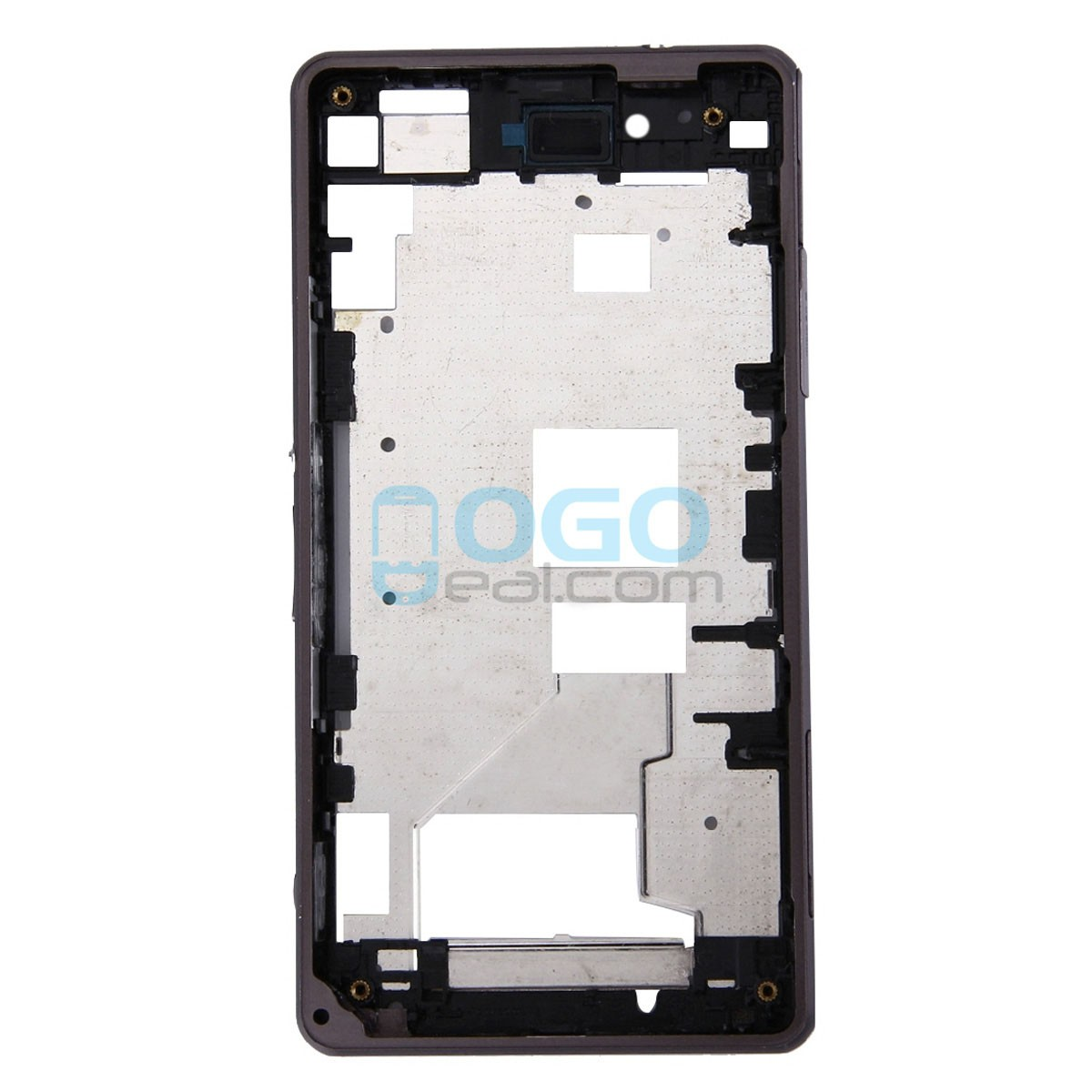 Factory Wholesale Front Housing Bezel Replacement For Sony Xperia Z1 Baterai Compact Mini Black Lightbox Moreview