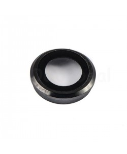For Apple iPhone 6 Rear Back Camera Lens Glass Cover with holder Ring ,High Quality - Black