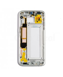 LCD front Support Frame for Samsung Galaxy S7 Edge (All Verison) - White