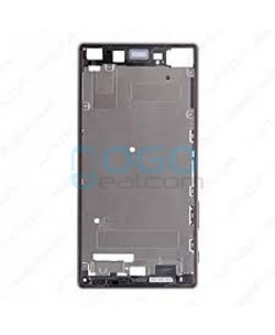 Front Housing Bezel Replacement for Sony Xperia Z5 Premium - Silver