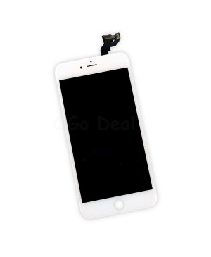 Apple iPhone 6S Plus Digitizer and LCD Screen Assembly with Frame Replacement - White(Ori LCD self assembly)