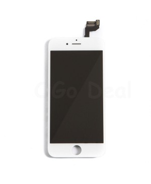 Apple iPhone 6S Digitizer and LCD Screen Assembly with Frame Replacement - White, Premium Ori