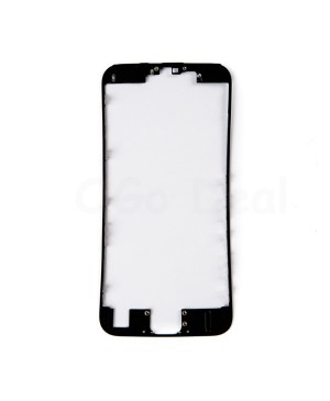 Apple iPhone 6S Front Frame with Hot Glue, Ori - Black