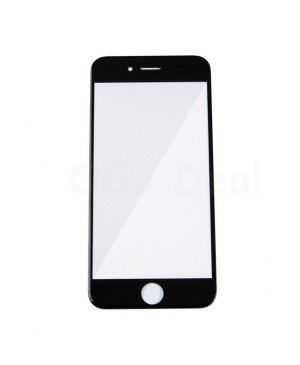 Apple iPhone 6S Front Glass Lens with OCA Adhesive Glue , High Quality - Black