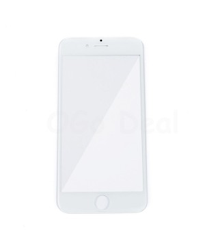 Apple iPhone 6S Front Glass Lens with OCA Adhesive Glue , High Quality - White