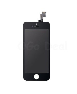 Apple iPhone 5S/SE Digitizer and LCD Screen Assembly with Frame Replacement - Black, Premium Ori